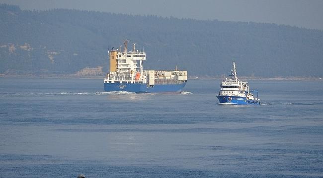 Çanakkale Boğazı dev gemiler için tek yönlü gemi trafiğine kapatıldı!