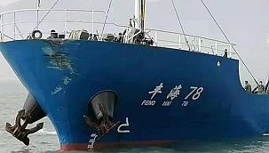 Çin Denizi'nde yük gemisi ile balık taşıma gemisi çarpıştı: 6 denizci kayboldu!
