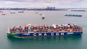 CMA CGM, Pasifik rotasına LNG ile çalışan konteyner gemileri konuşlandıracak!
