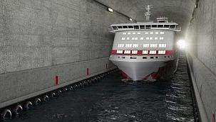 Dünyanın ilk gemi tünelinin inşasına başlandı!