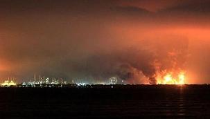 Endonezya'da petrol rafinerisinde patlama yaşandı: 5'i ağır 20 yaralı!