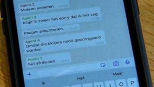 Hollanda polisi ırkçı mesajın ardından Türklerden özür diledi