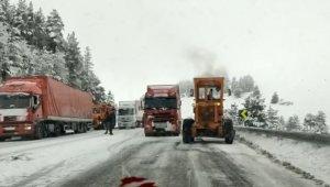 Kars'ta hava ve kara ulaşımına tipi engeli