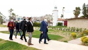 Mersin'in tarihi deniz feneri, çocuklar için masal evine dönüştürüldü