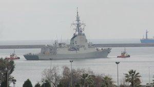 NATO gemileri Samsun'dan ayrıldı!