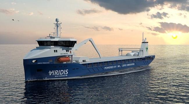Norveç'te amonyak yakıtlı kuru yük filosu oluşturulacak!