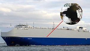 Ro-Ro gemisinde birden fazla patlama: İran sorumlu iddiası!