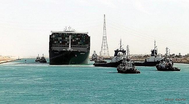 Süveyş Kanalı'ndaki tıkanıklık 3,5 gün içinde bitebilir!