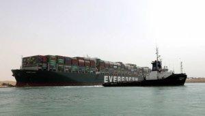 Süveyş Kanalı'nı tıkayan dev geminin sahibi Japon şirketten özür
