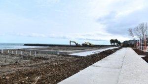 Yalıncak plajı deniz sezonuna yetiştirilecek