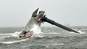 ABD'de alabora olan gemide ölü sayısı 5'e yükseldi: 8 Kayıp