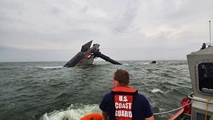 ABD'de batan geminin kayıp mürettebatını arama çalışmaları durduruldu!