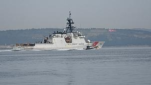 ABD Sahil Güvenlik 13 yıldır ilk kez Karadeniz'de!
