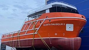 Alesta Dalgıçlık'ın yeni dalış teknesi hizmete giriyor!