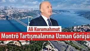 Ali Kurumahmut: ''Montrö'de Savaş ve Yakın Savaş Tehdidi''