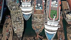 Aliağa'ya söküme gelen gemi tonajı yüzde 45 arttı: Daha genç ve büyük gemiler!