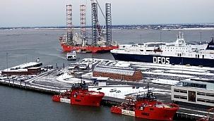 Danimarka limanı Port Esbjerg'de denizcilikte bir ilk: Co2 %70 azaltılacak!