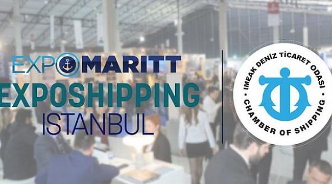 Denizcilik Sektörü Expomaritt Exposhipping Istanbul'da Buluşacak: 12-15 Ekim 2021