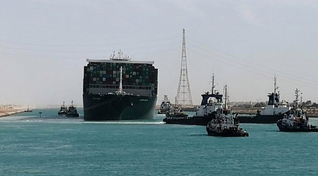 Ever Given için Mısır'dan 1 milyar dolarlık tazminat talebi: Gemiye el konulabilir!
