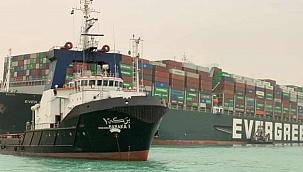 Evergreen, Ever Given'deki kargoyu başka gemiye aktarabilir!