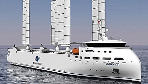 Fransız öncü şirket dünyanın ilk yelkenli konteyner gemisini geliştirdi!