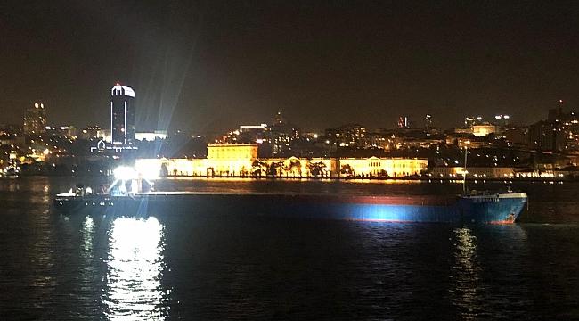 İstanbul Boğazı'nda makinesi arızalanan gemiye KEGM müdahale etti!