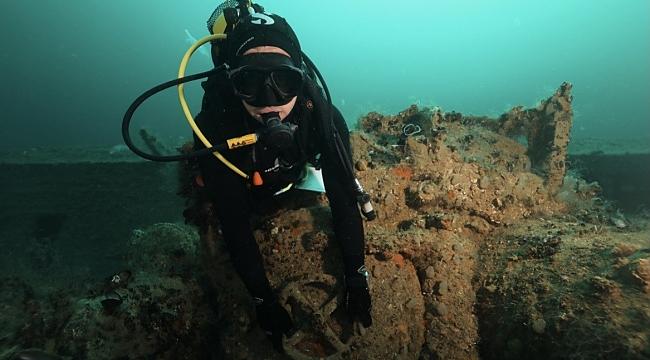 Hitlerin Karadeniz'deki kayıp denizaltısı 75 yıl sonra bulundu!