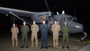NATO'nun gönderdiği deniz karakol uçağı Adana'ya ulaştı!