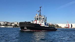 Sanmar, Sırapınar XII römorkörünü İngiltere limanına teslim etti!