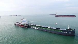Singapur'da bir ilk: Okyanus aşırı seyir yapan gemide biyoyakıt denemesi!