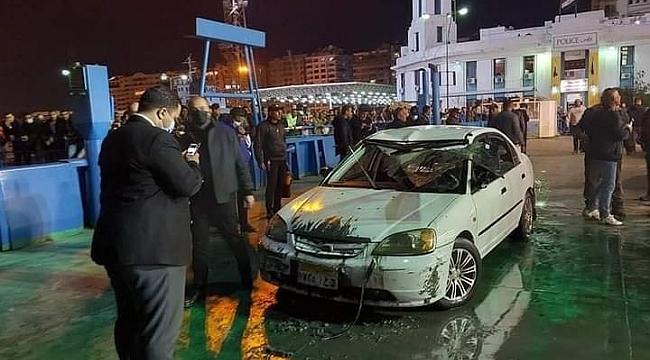 Süveyş Kanalı'nda araç feribottan denize düştü: Bir çocuk hayatını kaybetti!