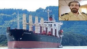Türk Kaptan temizliğini yaptığı gemi ambarına düşerek öldü!