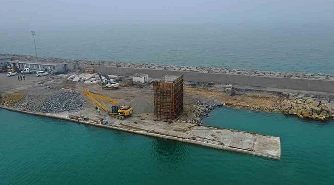 Ünye Konteyner Liman projesi ilerliyor!