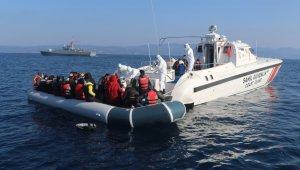 Yunanistan'ın ölüme terk ettiği 231 düzensiz göçmen kurtarıldı!