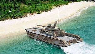 """Endonezya'da deniz güvenliğini """"Tank Boat"""" savaş gemisi sağlayacak!"""