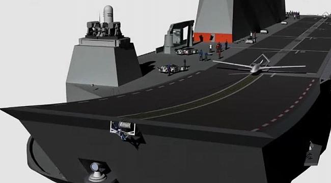 Forbes dergisi: TCG Anadolu dünyanın ilk gerçek drone uçak gemisi olacak!