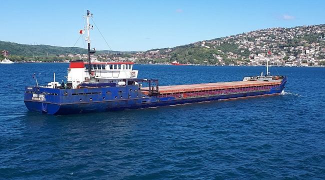 Kuruçeşme'de arızalanan 79 metrelik gemiye KEGM müdahale etti!