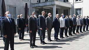 Meslek Şehitlerini Anma ve Kılavuz Kaptanlar Haftası etkinlikleri törenlerle başladı.