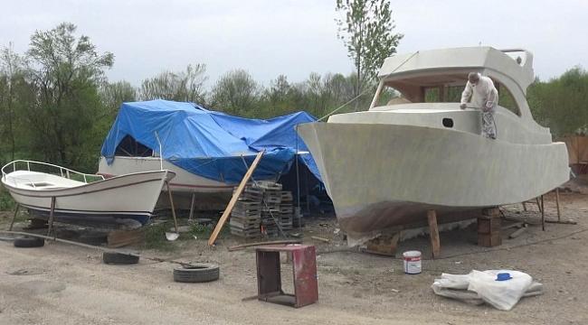 Pandemi dönemi ahşap tekne ve yat üretimini artırdı