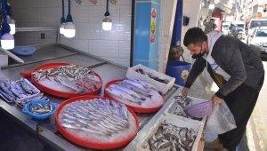 Sinop'ta kısıtlamada balık satışları sıfıra indi