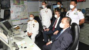 Endonezya'ya ait İskender Muda 367 savaş gemisi Mersin'de!