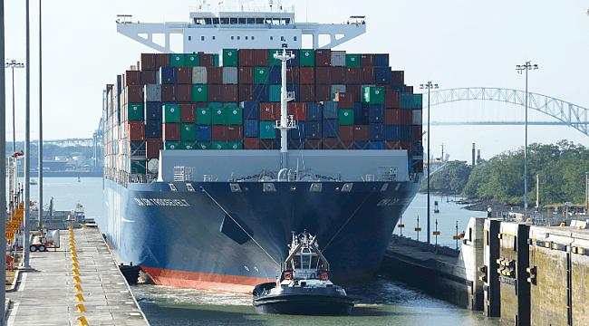 Panama Kanalı'ndan artık daha da büyük gemiler geçebilecek!