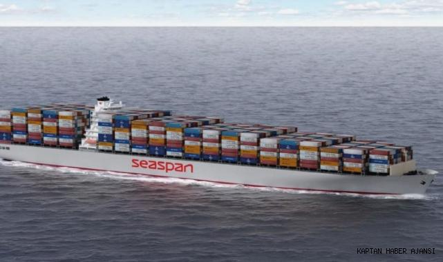 Seaspan iki konteyner gemisi sipariş ederek toplam siparişini 39'a çıkardı!