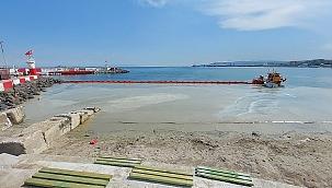 Temizlenen kıyılar bir günde müsilajla doldu!