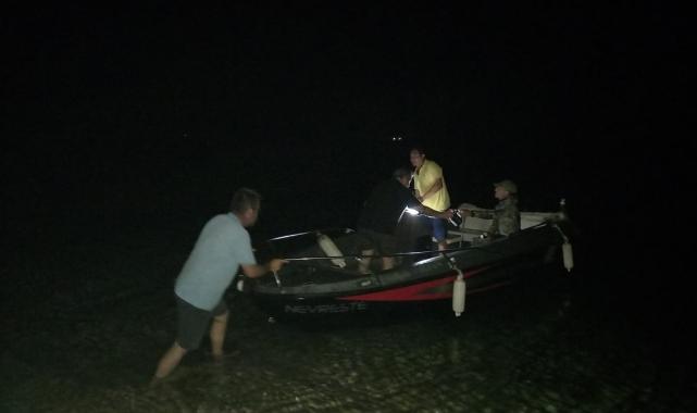 Bozcaada'da zıpkınla balık avlamak için denize giren kişi kayboldu!