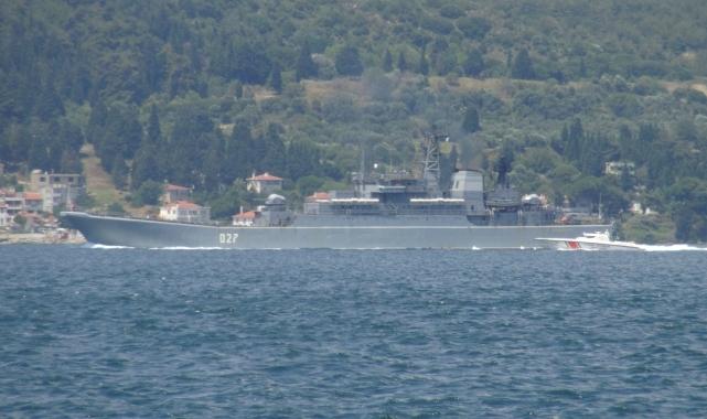 Çanakkale Boğazı Rus savaş gemileriyle doldu!