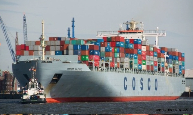 Cosco 1,5 milyar dolar değerinde 10 konteyner gemisi siparişi verdi!