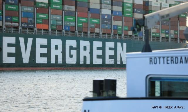 Ever Given Rotterdam'a ulaştı, Süveyş Kanalı destanı sona erdi!