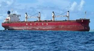 Maldivler açıklarında resiflerde karaya oturan geminin şirketinden açıklama!