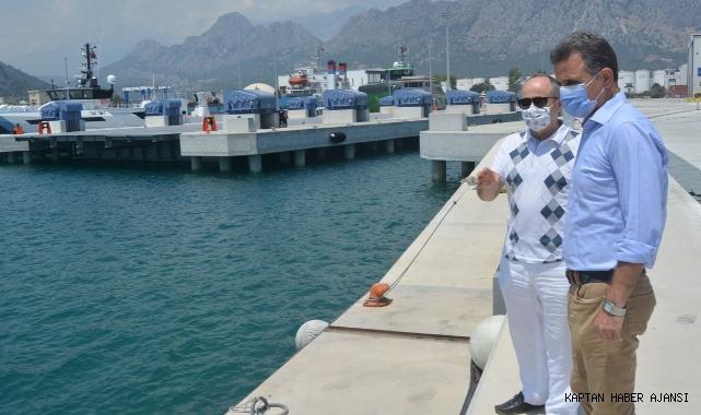 Antalya'da mega lüks yatlar üretecek!